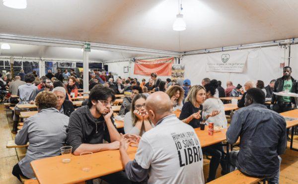 Fornaci Rosse associazione festival FR musica buon cibo dibattiti sagra vicenza veneto Bersani volontari festa foto